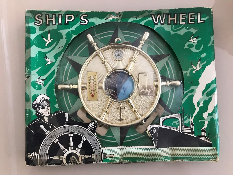Lot # 66 San Francisco Plastic Ships Wheel  (main image)