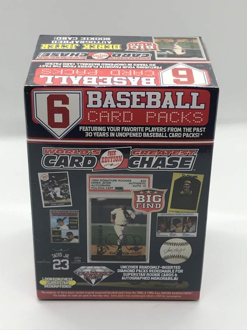 Lot # 236 2021 Worlds Greatest Card Chase Baseball Blaster Box Sealed (main image)