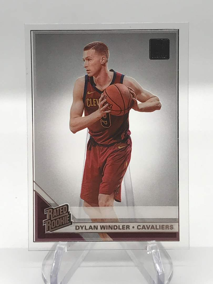 Lot # 242 2019-20 Donruss Clearly Rookie DYLAN WINDLER (main image)