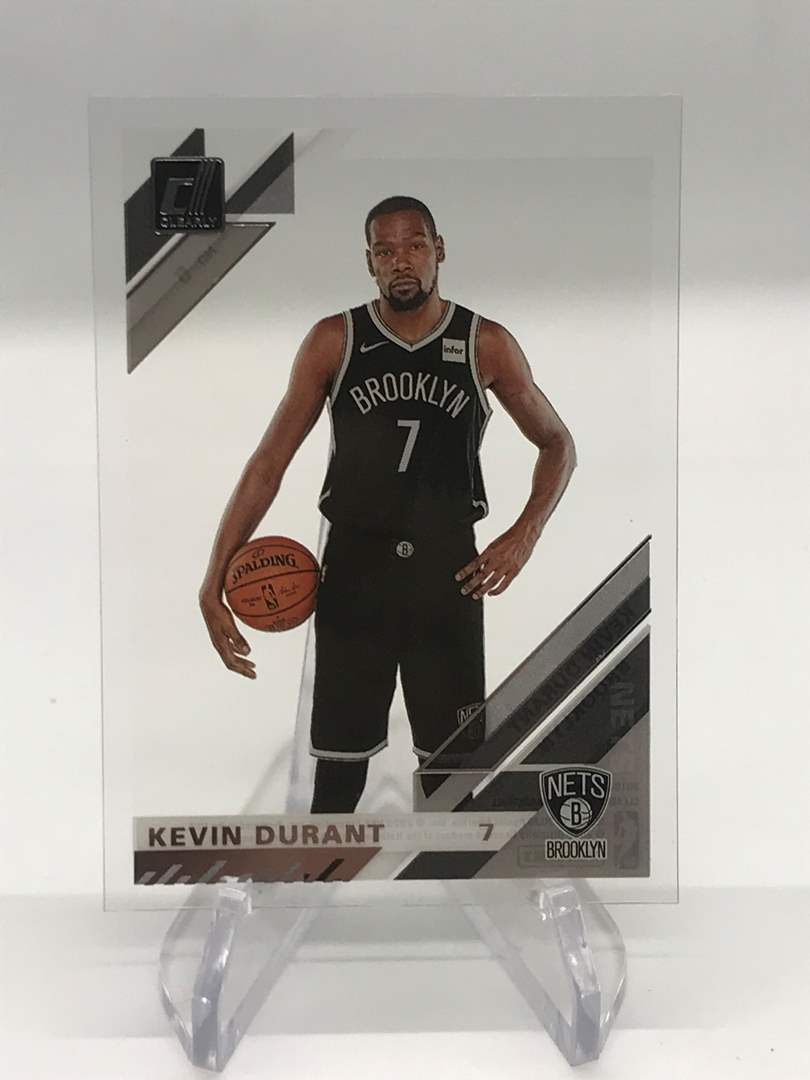 Lot # 247 2019-20 Donruss Clearly KEVIN DURANT (main image)