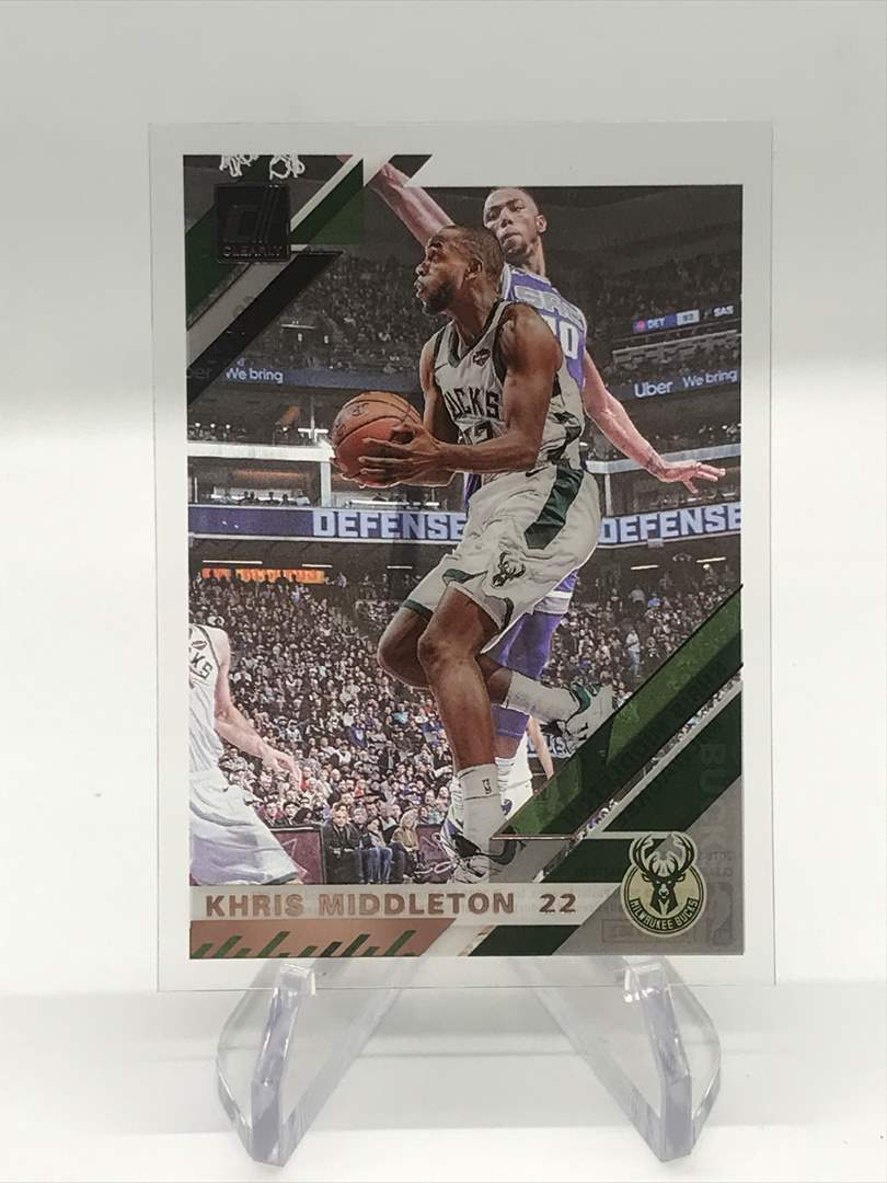 Lot # 250 2019-20 Donruss Clearly KHRIS MIDDLETON (main image)