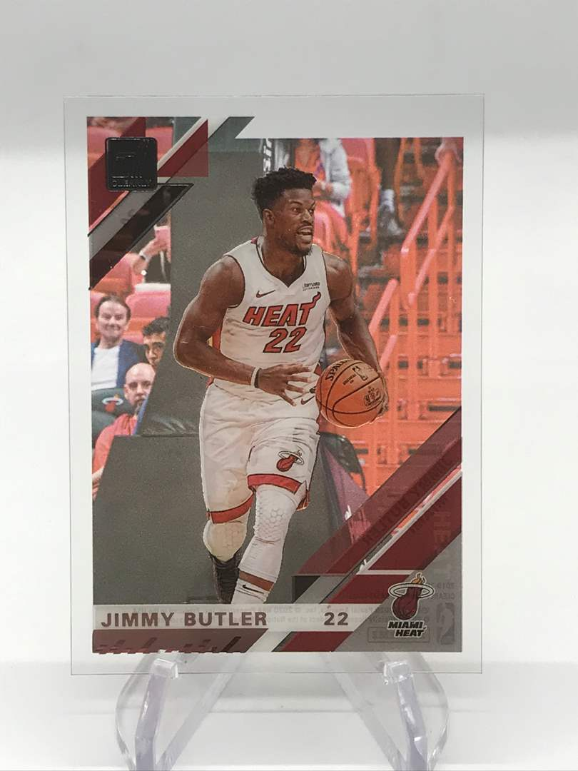 Lot # 256 2019-20 Donruss Clearly JIMMY BUTLER (main image)