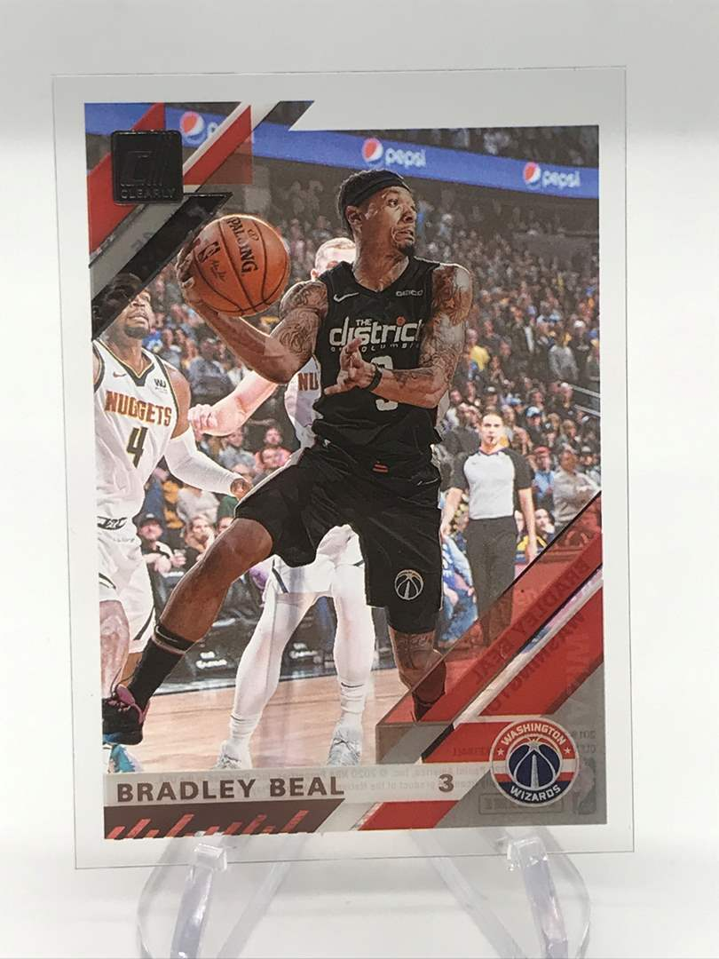 Lot # 257 2019-20 Donruss Clearly BRADLEY BEAL (main image)