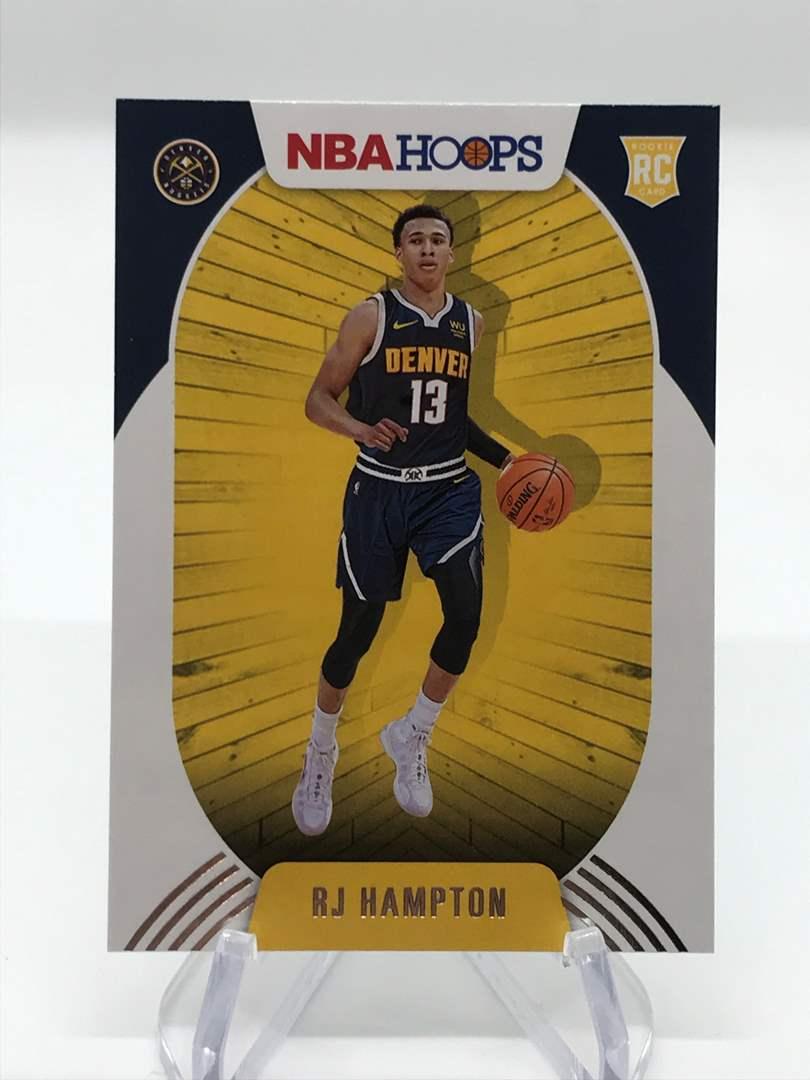 Lot # 269 2020-21 Panini Hoops RJ HAMPTON (main image)