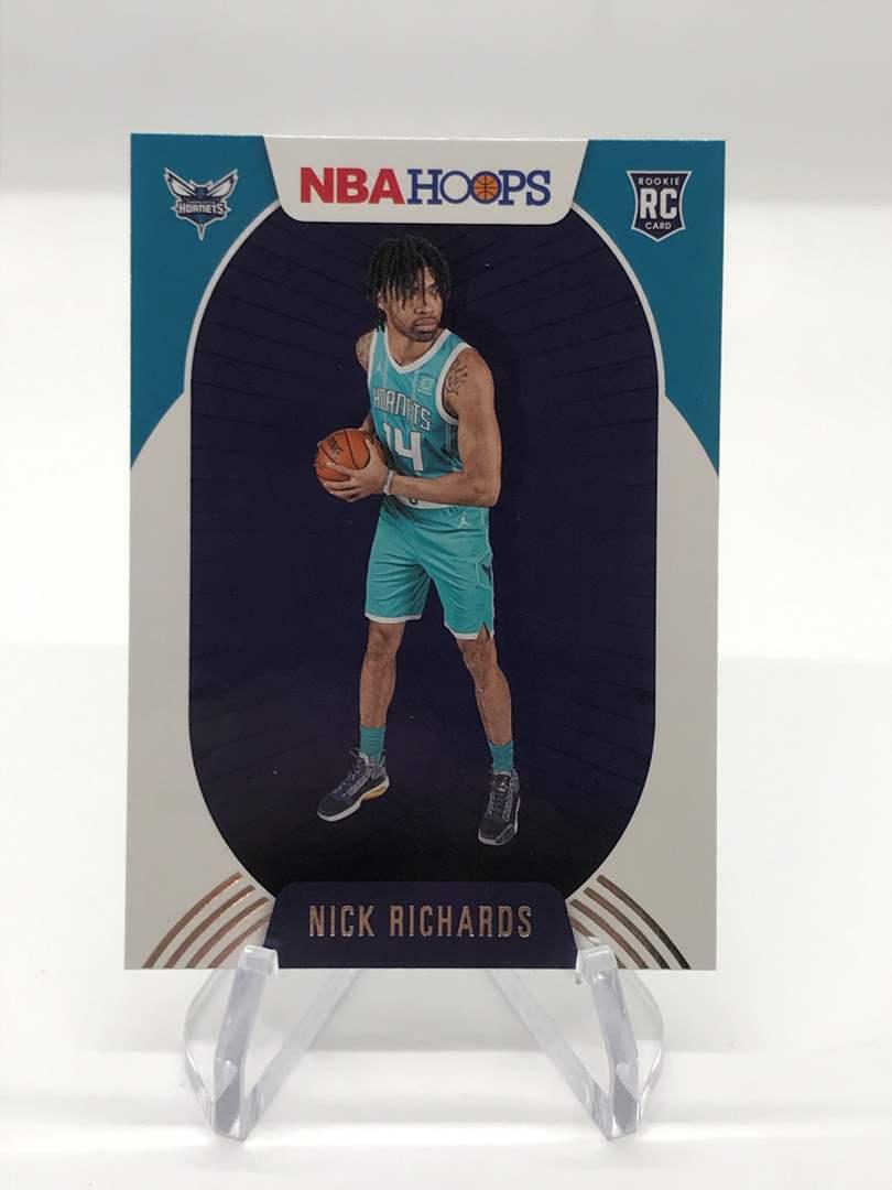Lot # 272 2020-21 Panini Hoops Rookie NICK RICHARDS (main image)