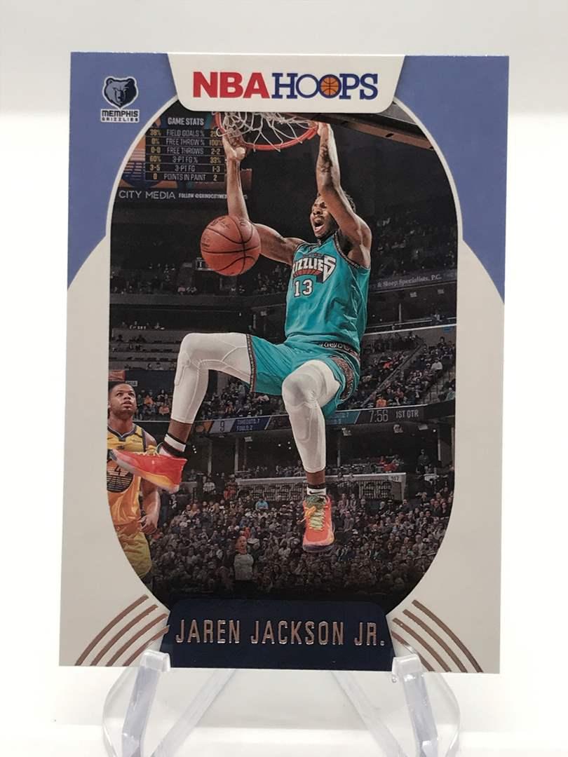 Lot # 279 2020-21 Panini Hoops JAREN JACKSON JR. (main image)