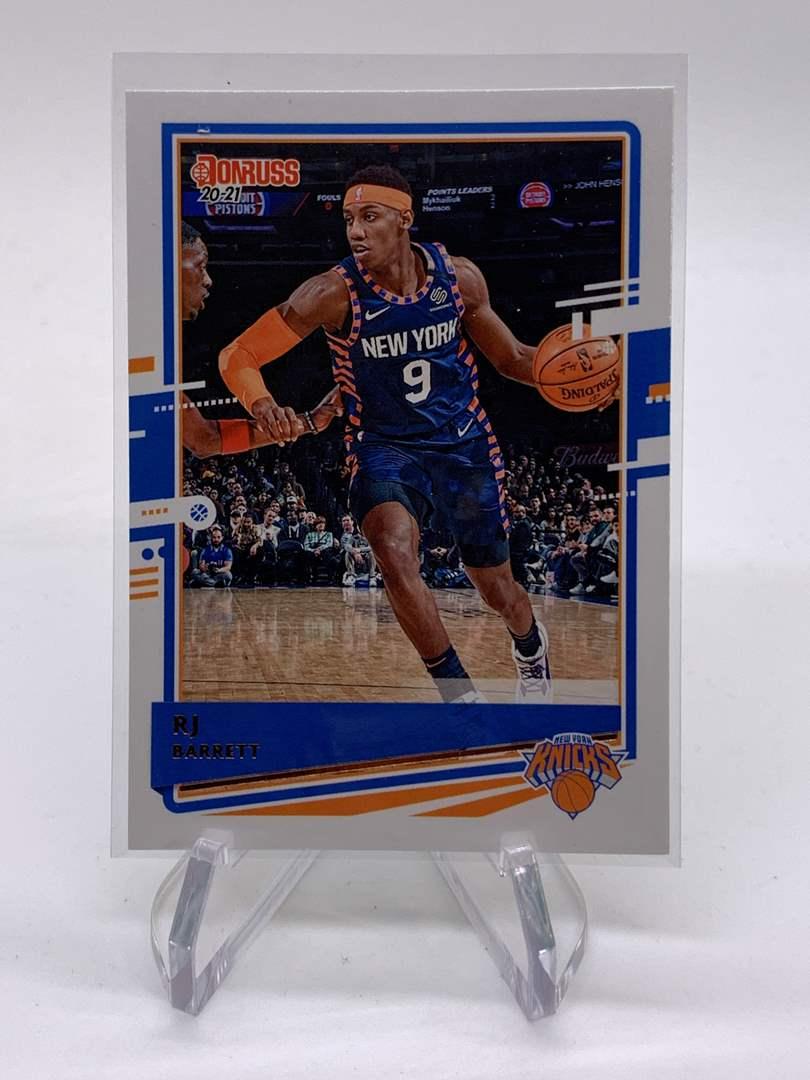 Lot # 19 2020-21 Panini Donruss RJ BARRETT Knicks (main image)