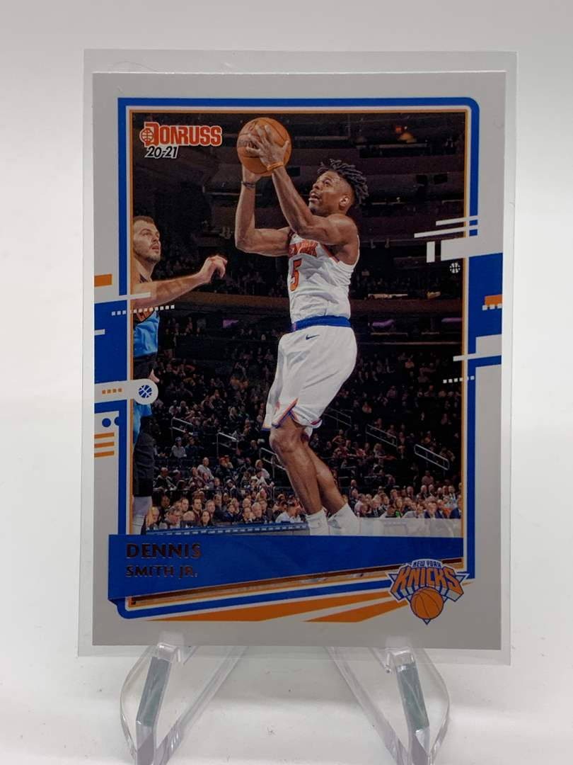 Lot # 20 2020-21 Panini Donruss DENNIS SMITH JR Knicks (main image)