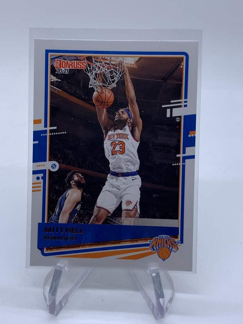 Lot # 23 2020-21 Panini Donruss MITCHELL ROBINSON Knicks (main image)