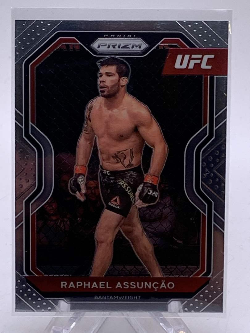 Lot # 64 2021 Panini Prizm UFC RAPHAEL ASSUNCAO (main image)