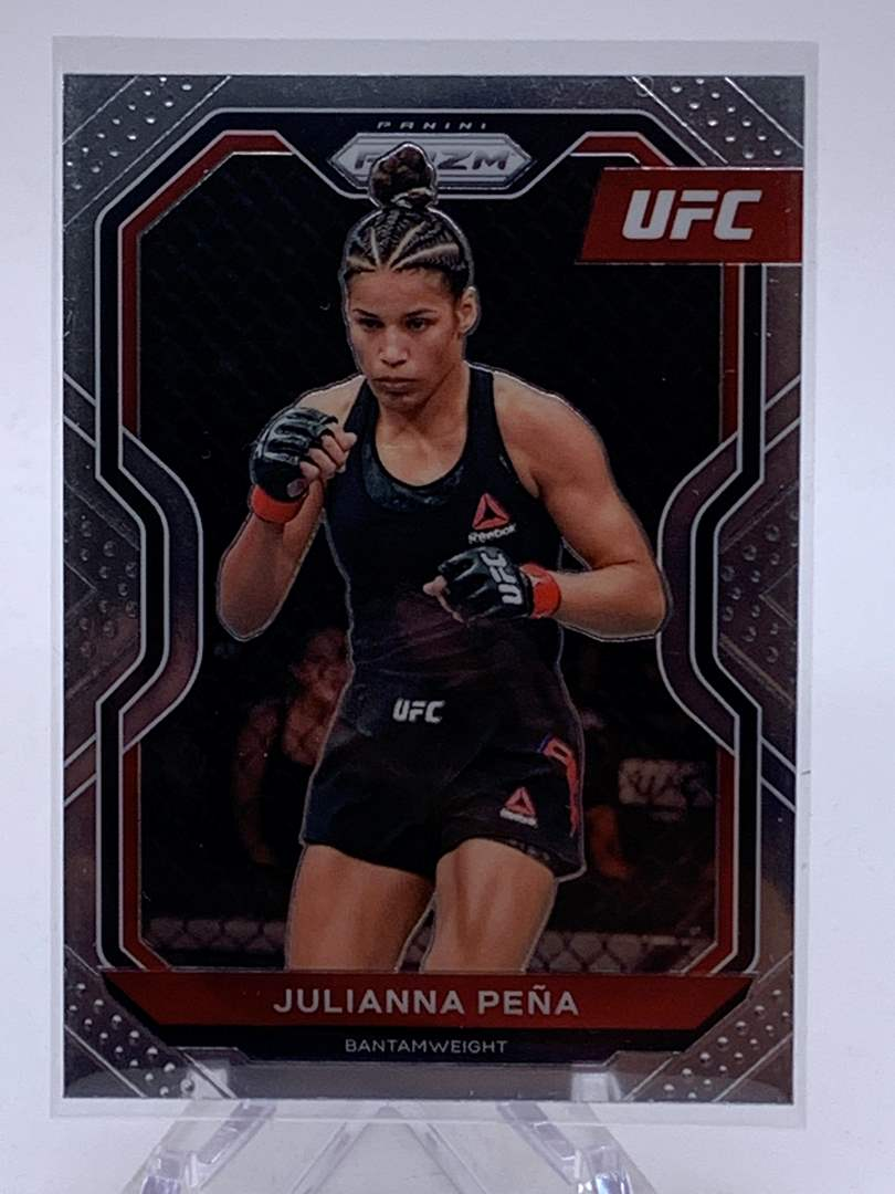 Lot # 70 2021 Panini Prizm UFC JULIANNA PENA (main image)
