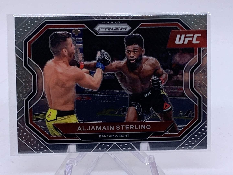 Lot # 74 2021 Panini Prizm UFC ALJAMAIN STERLING (main image)