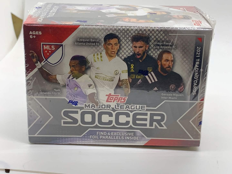 Lot # 81 2021 Topps Soccer Sealed Box (main image)
