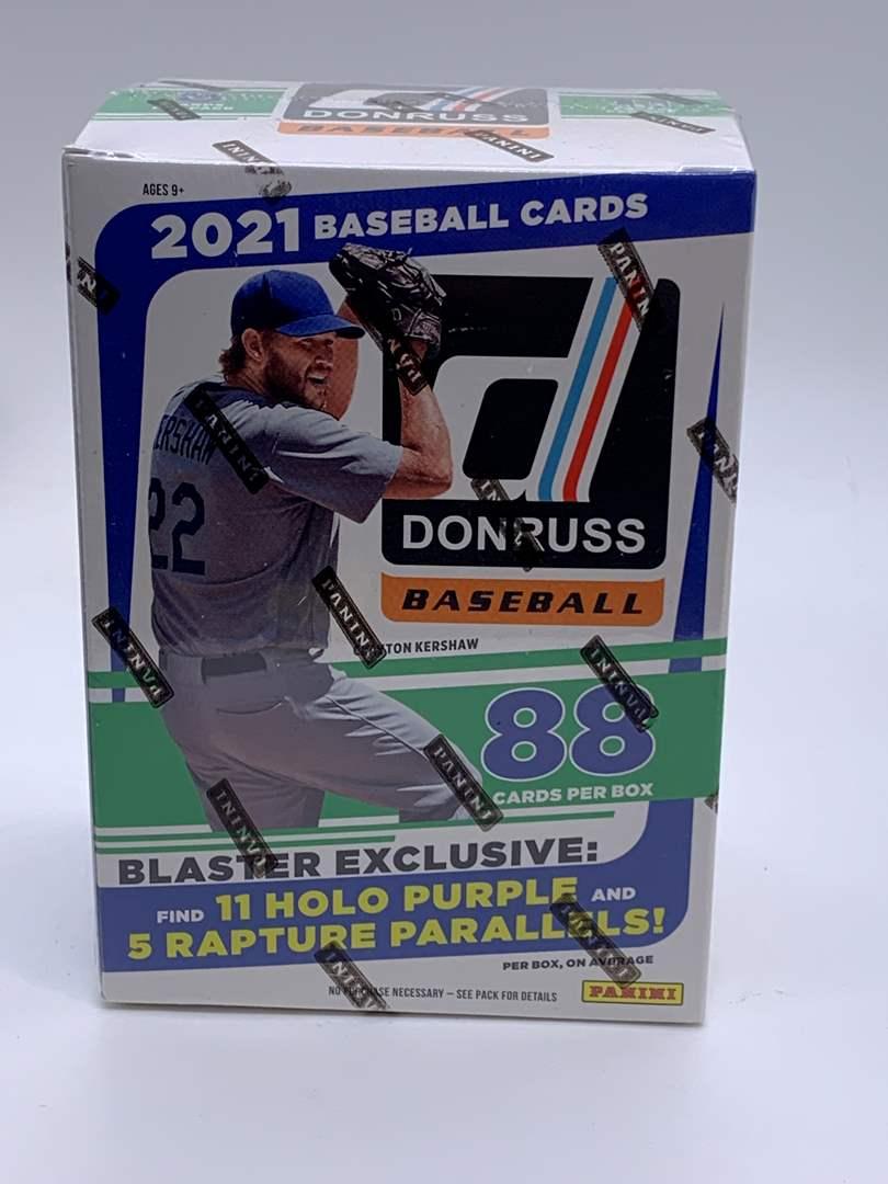 Lot # 82 2021 Donruss Baseball Blaster Sealed Box (main image)