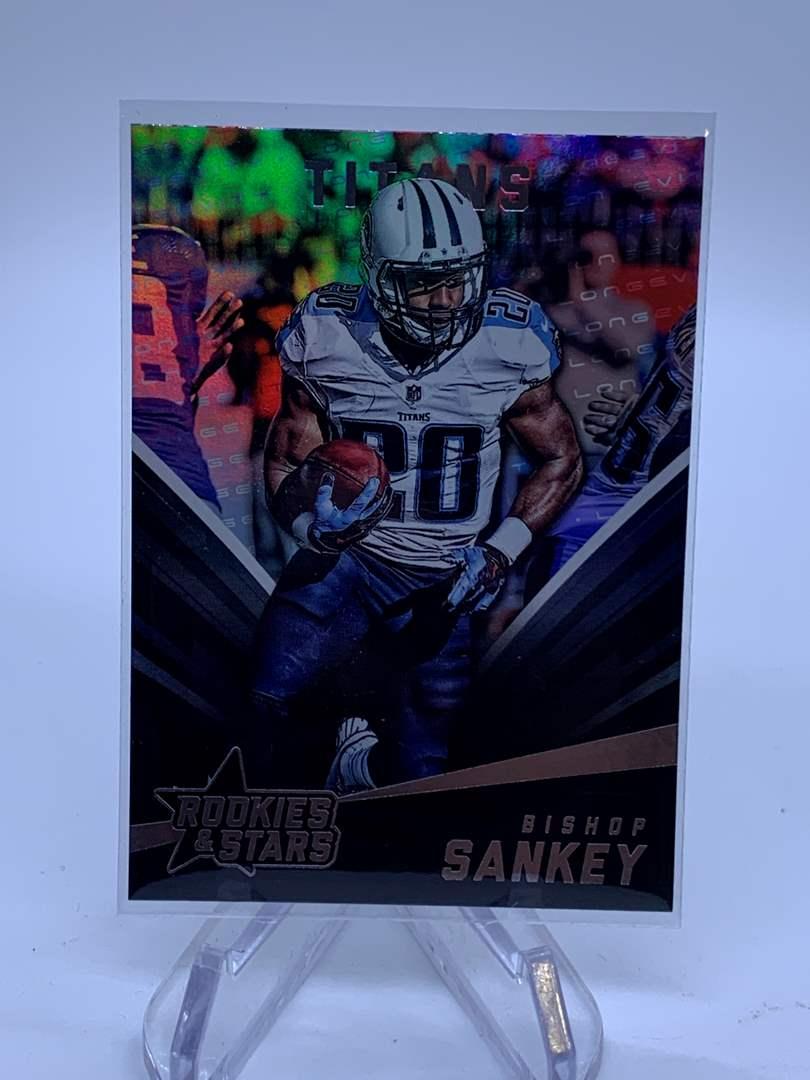 Lot # 106 2015 Panini Rookies & Stars BISHOP SANKEY Titans (main image)