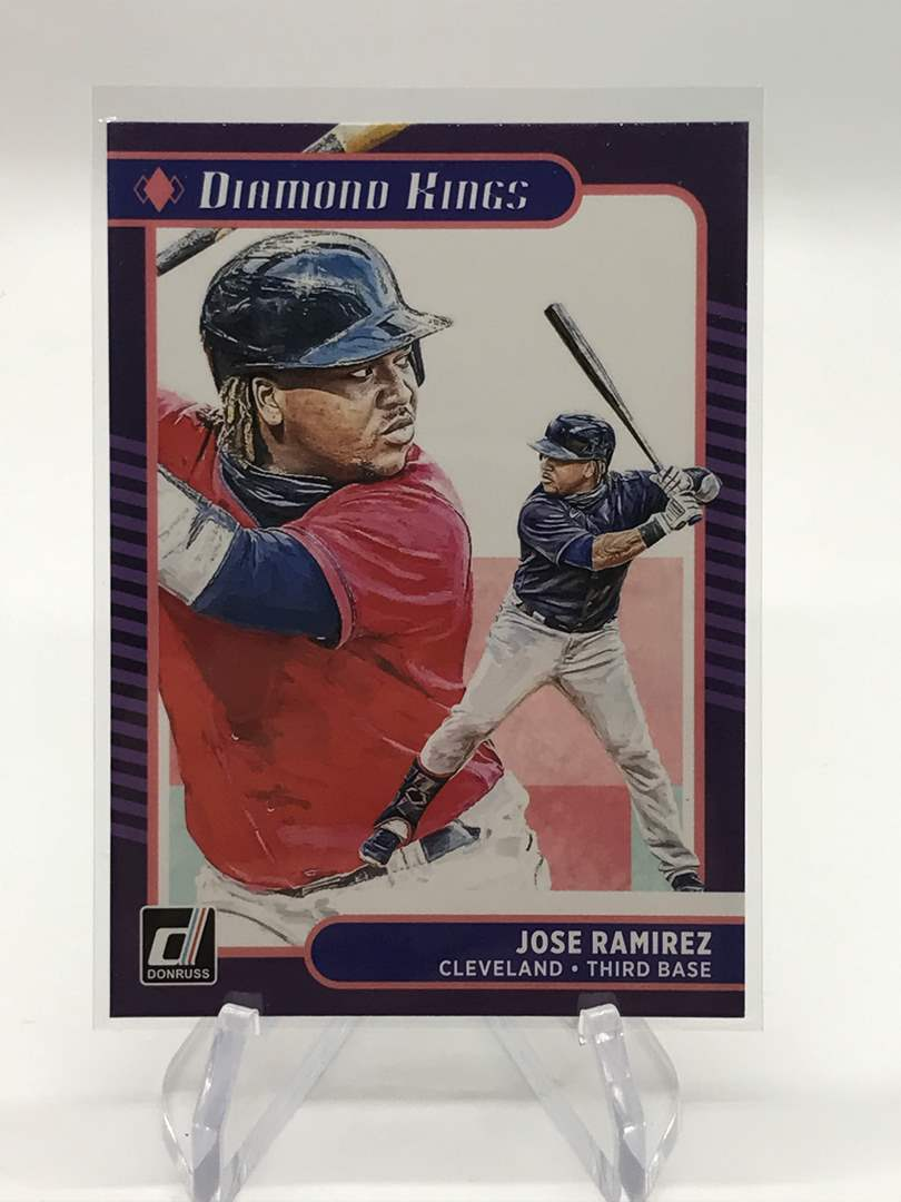 Lot # 171 2020 Panini Donruss Diamond Kings JOSE RAMIREZ  (main image)