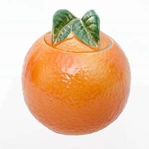 Orange Marmalade Jar