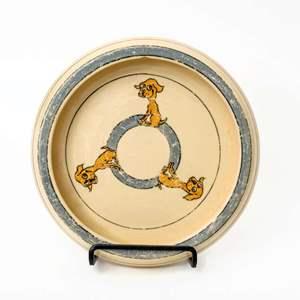 1920s Roseville Pottery Child's Dish