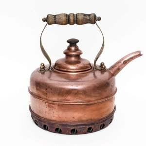 English Simplex Copper Tea Kettle