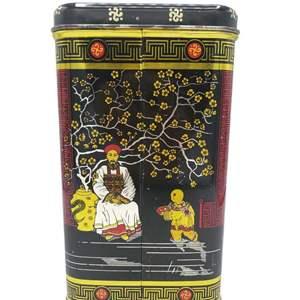 Vintage Chinoiserie Tin