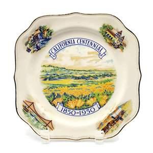 1950 California Centennial Plate