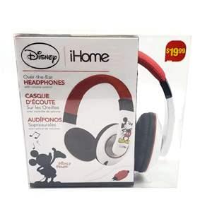 Disney iHome Headphones, New in Box