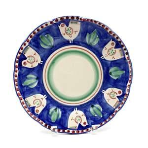 Solimene Italian Plate With Birds