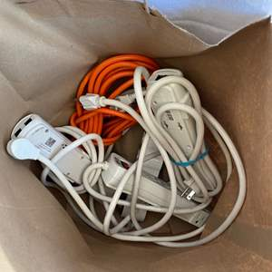 Lot # 28 Lot of Surge Protectors and One Extension Cord Un-Tested