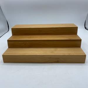 Lot # 33 Desktop Wood Expandable Display
