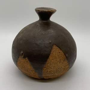 Lot # 44 Pottery Vase, Signed