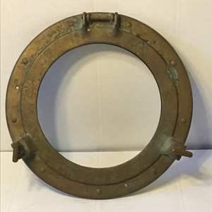 Lot # 53 Brass Porthole- No Glass