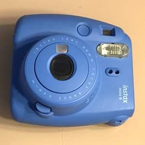 Lot # 82 FUJIFILM Instax Mini 9 Instant Film Camera-Untested/Powers on & Flash Works