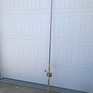 """Lot # 85 St. Croix  Graphite 6'6"""" 1pc Rod/Penn 65 Reel Combo-Bottom Part Won't Stay Connected Missing Piece?"""