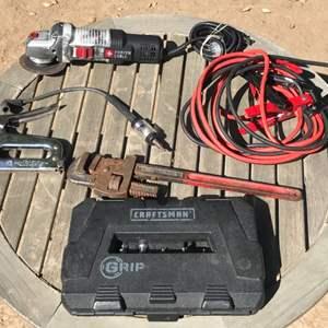 Lot # 100 Tool Lot-Porter Cable Grinder Works