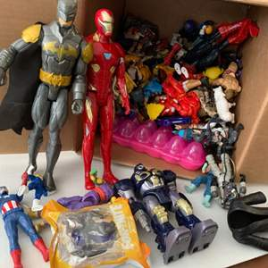 Lot # 101 Box of Action Figures