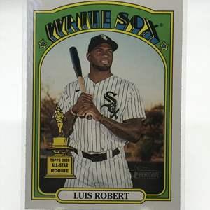 Lot # 227 2021 Topps Heritage Rookie LUIS ROBERT