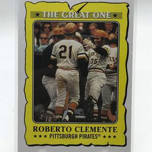 Lot # 233 2021 Topps Heritage The Great One ROBERTO CLEMENTE
