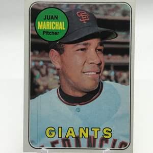 Lot # 256 1969 Topps JUAN MARICHAL