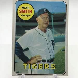 Lot # 263 1969 Topps MAYO SMITH