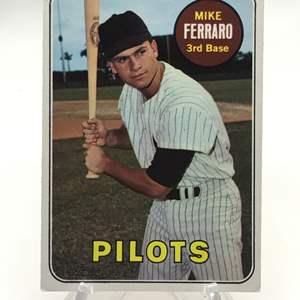 Lot # 264 1969 Topps MIKE FERRARO