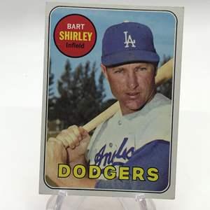 Lot # 271 1969 Topps BART SHIRLEY