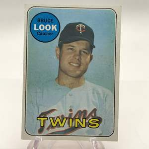 Lot # 277 1969 Topps BRUCE LOOK