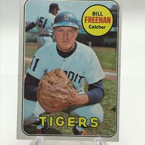 Lot # 287 1969 Topps BILL FREEHAN