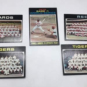 Lot # 299 1971 Baseball Cards-Lot of 5