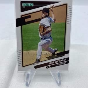 Lot # 55 2021 Panini Donruss Baseball MIKE LEVINGER