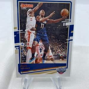 Lot # 69 2020-21 Panini Donruss Basketball JRUE HOLIDAY Pelicans