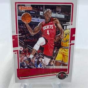 Lot # 70 2020-21 Panini Donruss Basketball DANUEL HOUSE JR. Rockets