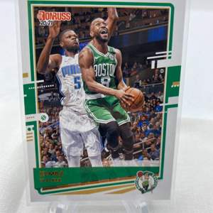 Lot # 76 2020-21 Panini Donruss Basketball KEMBA WALKERS Celtics