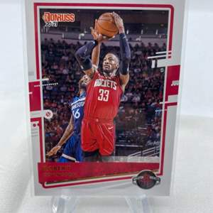 Lot # 78 2020-21 Panini Donruss Basketball ROBERT COVINGTON Rockets