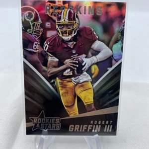 Lot # 93 2015 Panini Rookies & Stars ROBERT GRIFFIN II Redskins